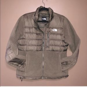 The North Face Denali Down Jacket Tan Size large